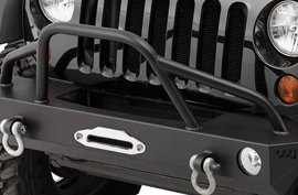 Warrior Fender Flare on Jeep Wrangler Rubicon