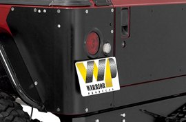 Warrior Cowl Panel on Jeep Wrangler Unlimited