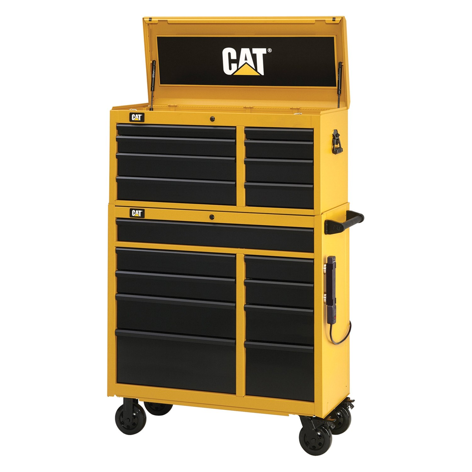 waterloo 174 cat3 4117co cat 41 quot 17 drawer tool chest and