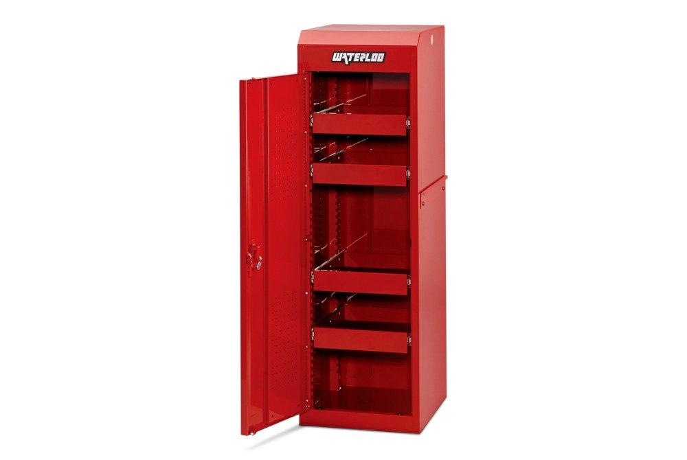 ... Waterloo®   Red Full Height Side Locker ...
