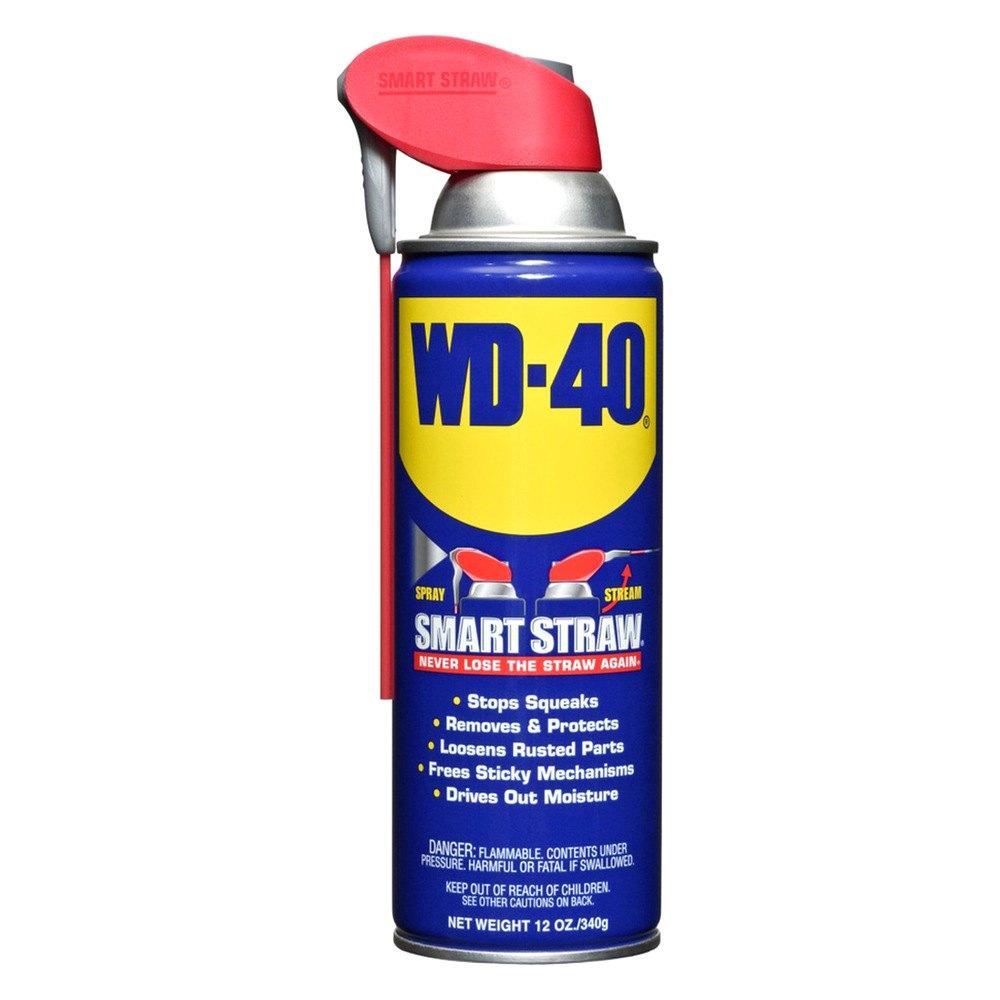 WD-40® 10152 - Multi-Use Smart Straw™ Aerosol Lubricant, 12 oz