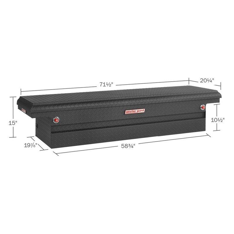 weather guard nissan titan 5 5 39 bed 2005 2015 full size. Black Bedroom Furniture Sets. Home Design Ideas