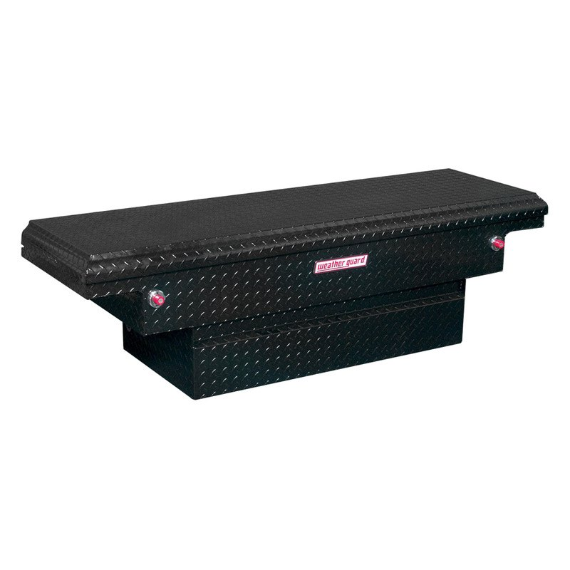 weather guard 131 5 01 low profile stair notches single lid crossover tool box. Black Bedroom Furniture Sets. Home Design Ideas