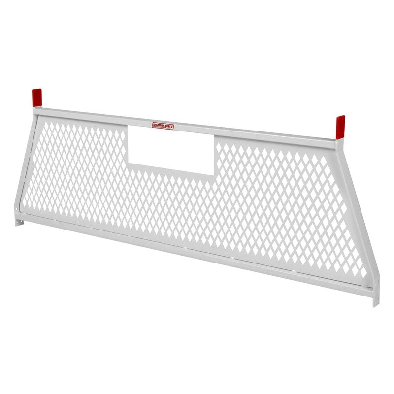 For Dodge Ram 3500 94 Weather Guard Protect A Rail White