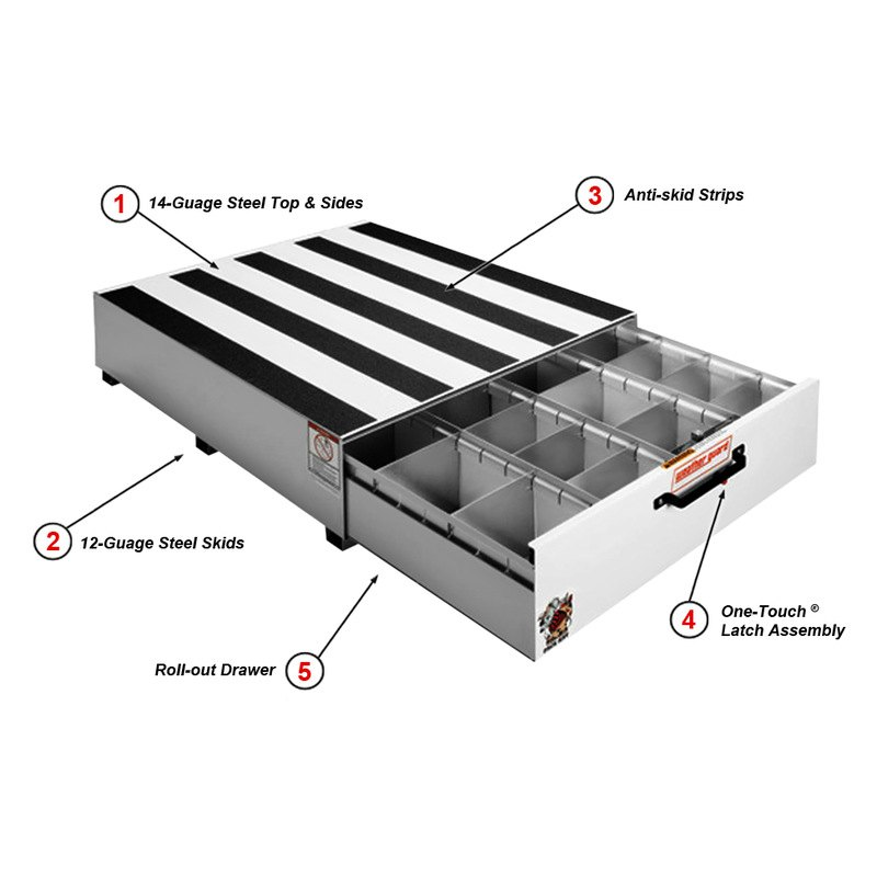 Weather Guard 338 3 Pack Rat Drawer Unit 783965014250 Ebay