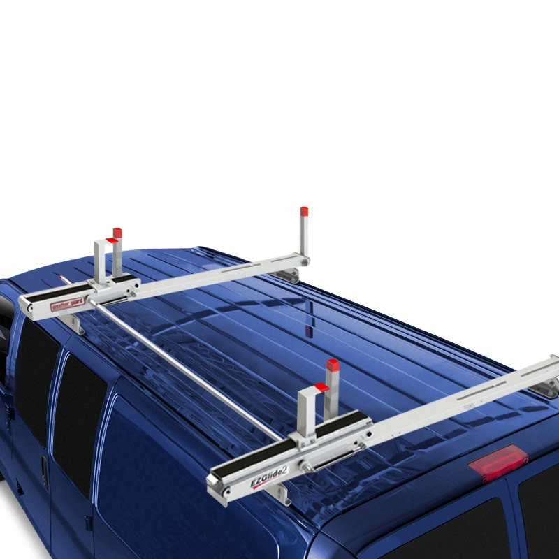 Ford Transit 15 18 Weather Guard Ezglide2 Extended Drop Down Ladder Rack 783965047968 Ebay