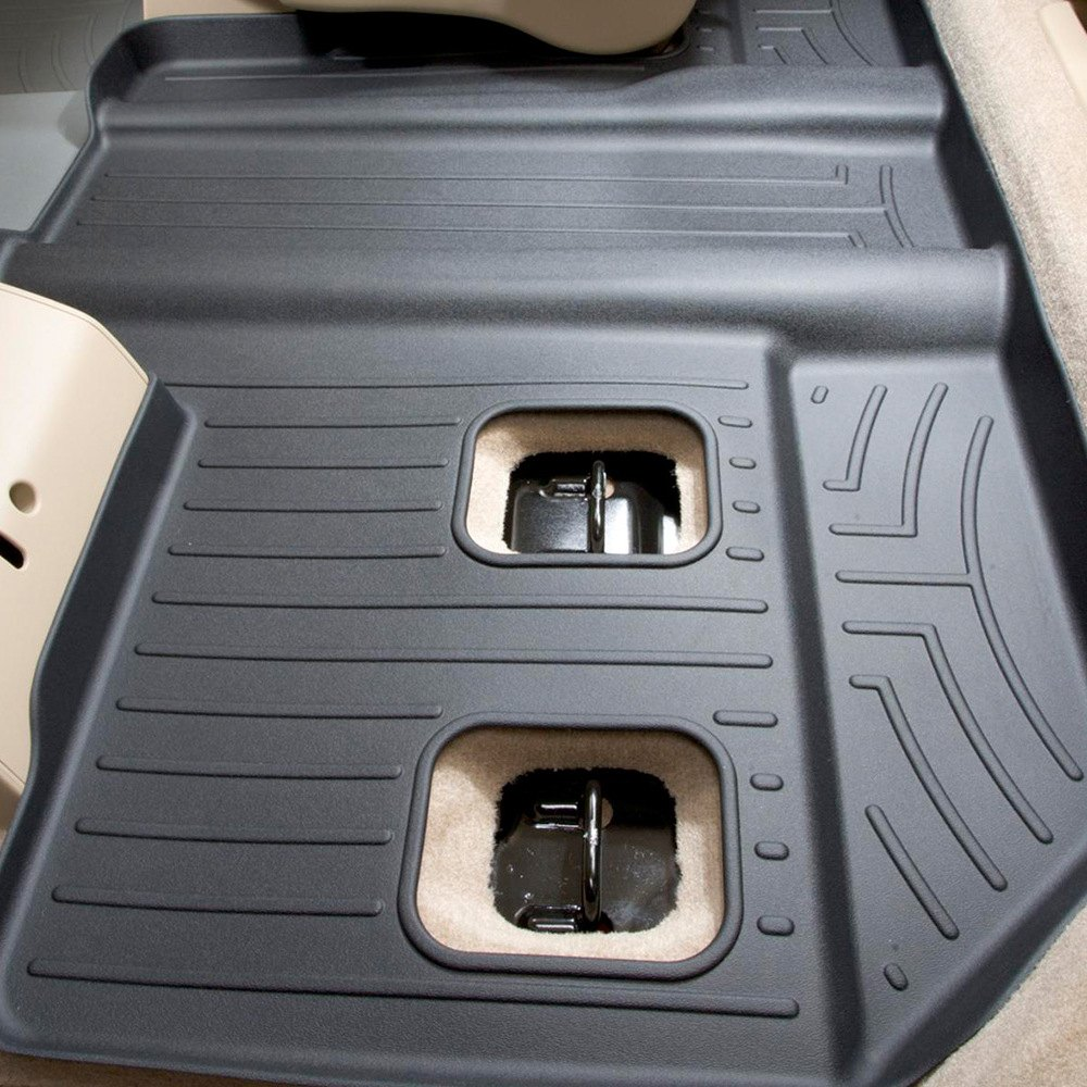 Weathertech 174 440665 Digitalfit 3rd Row Black Molded