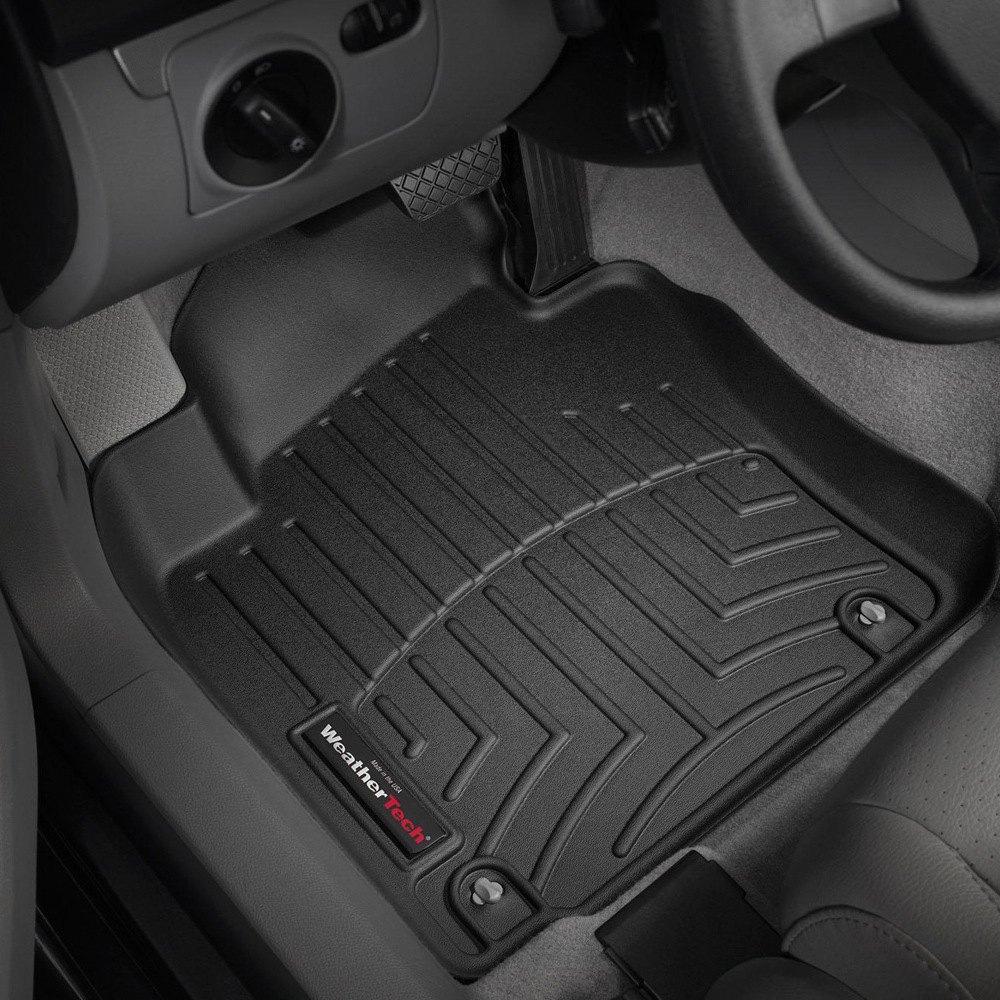 Weathertech floor mats calgary - Weathertech Digitalfit Molded Floor Liners Black