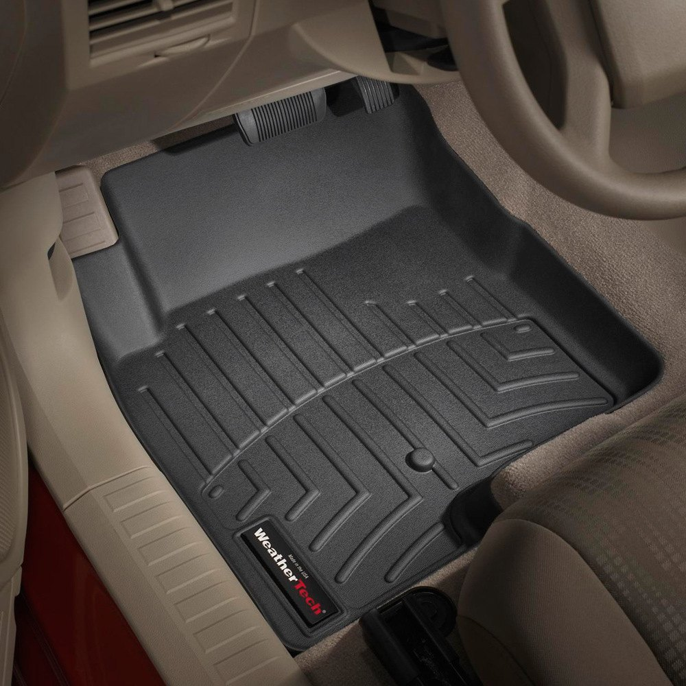 Weathertech 174 440861 Digitalfit 1st Row Black Molded