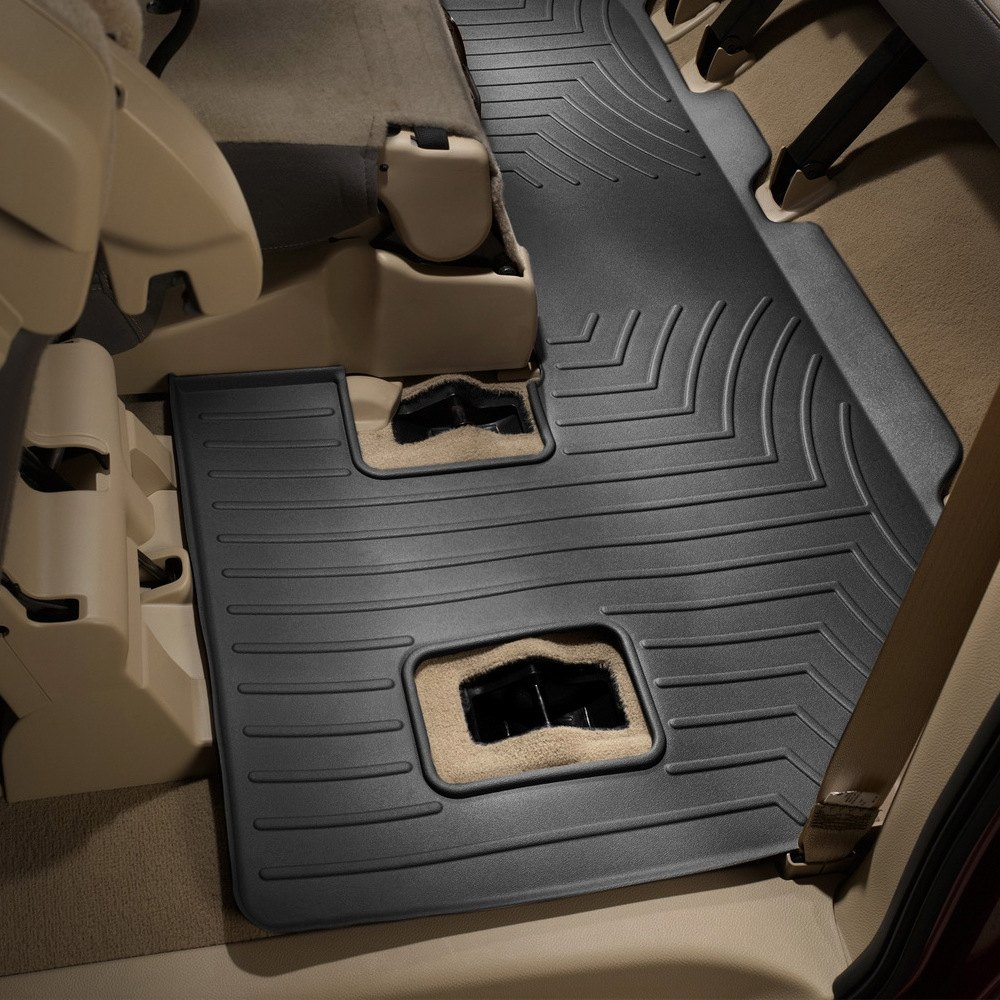 Weathertech 174 441073 Digitalfit 3rd Row Black Molded
