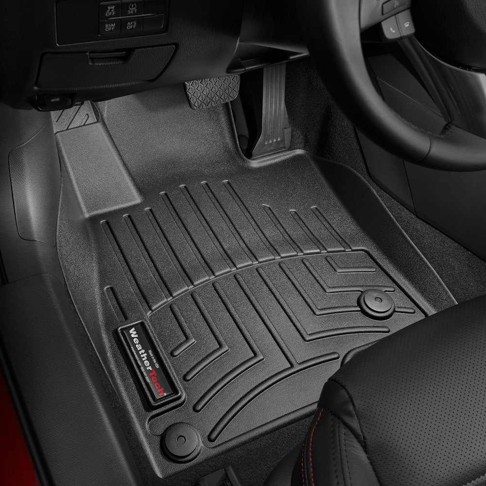 Weathertech 174 444861 Digitalfit 1st Row Black Molded