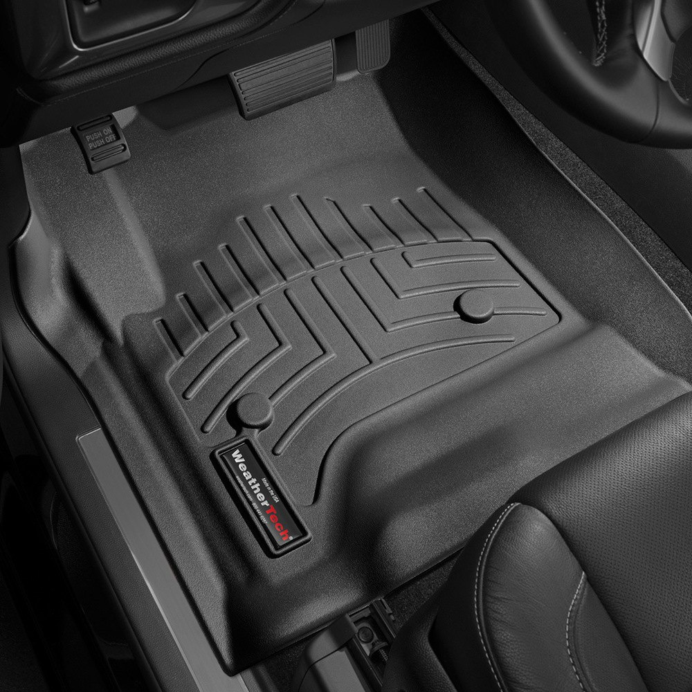 Weathertech 174 446071 Digitalfit 1st Row Black Molded
