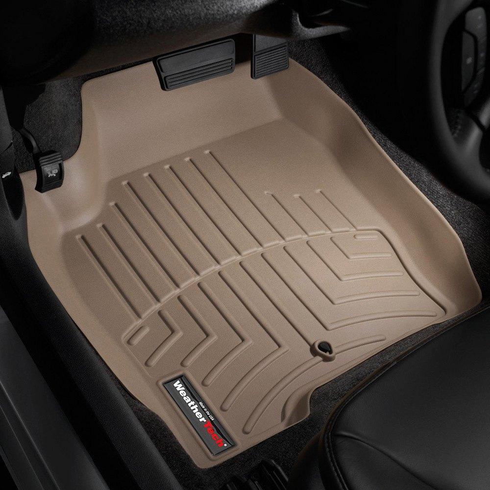 Weathertech 174 451241 Digitalfit 1st Row Tan Molded Floor