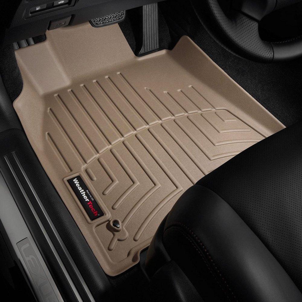 weathertech 452071 digitalfit 1st row tan molded floor liners. Black Bedroom Furniture Sets. Home Design Ideas
