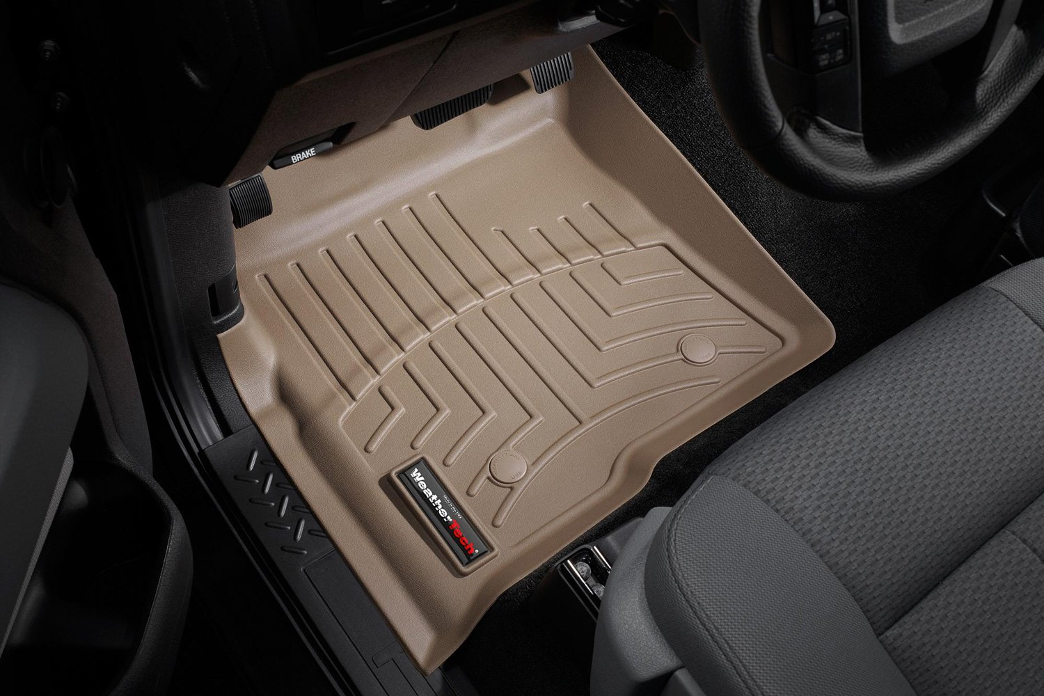 ford f 150 weathertech floor mats