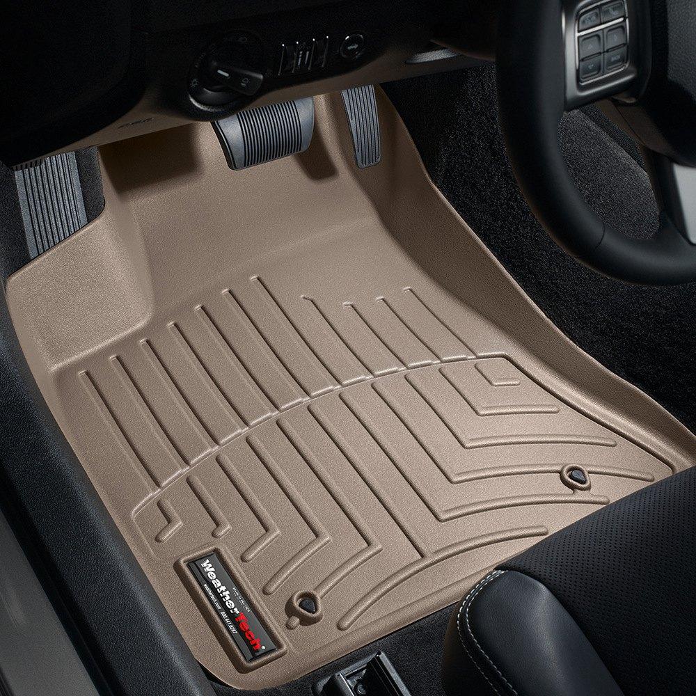 Weathertech 174 453791 Digitalfit 1st Row Tan Molded Floor