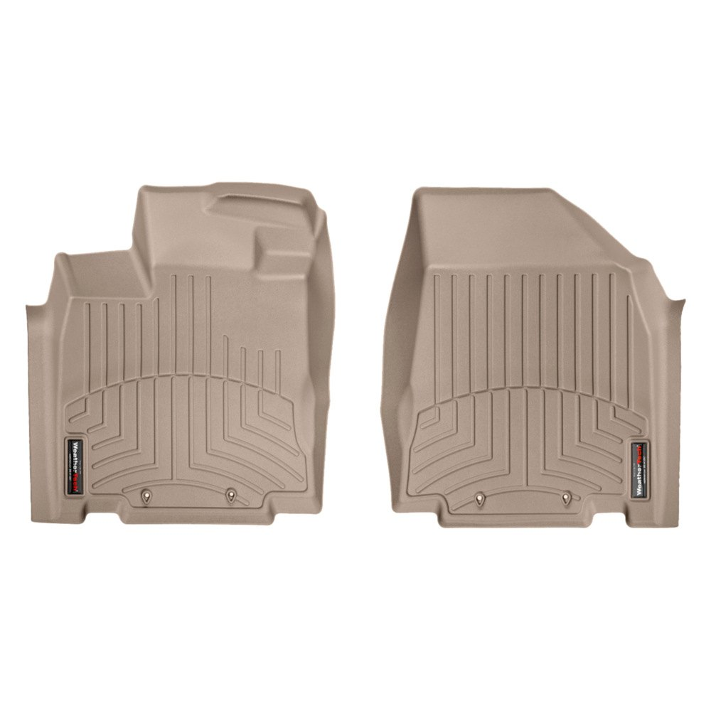 Weathertech floor mats nissan pathfinder -  Weathertech Digitalfit Molded Floor Liners Tan