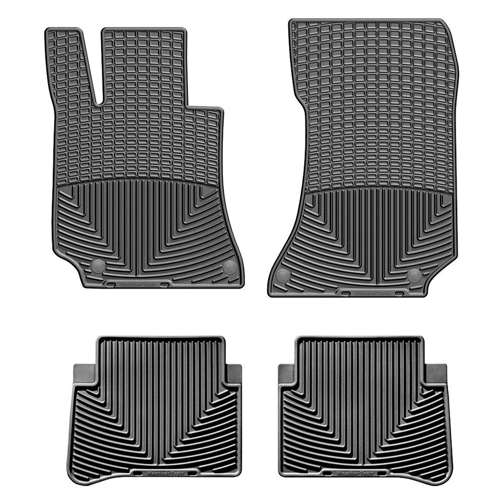 Weathertech mercedes e class with driver and passenger for Mercedes benz floor mats e350