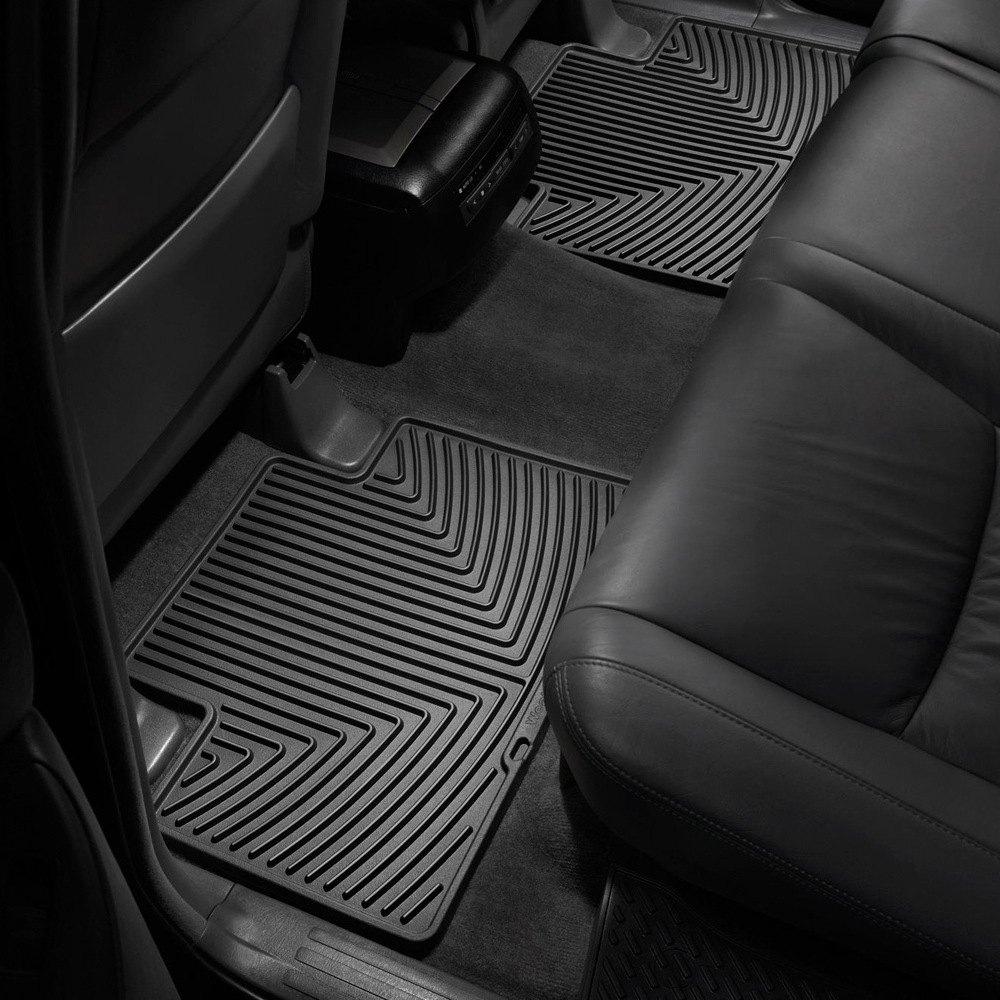 weathertech w136 all weather floor mats 2nd row black. Black Bedroom Furniture Sets. Home Design Ideas