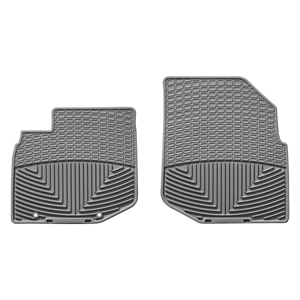 weathertech w147gr all weather 1st row gray floor mats. Black Bedroom Furniture Sets. Home Design Ideas