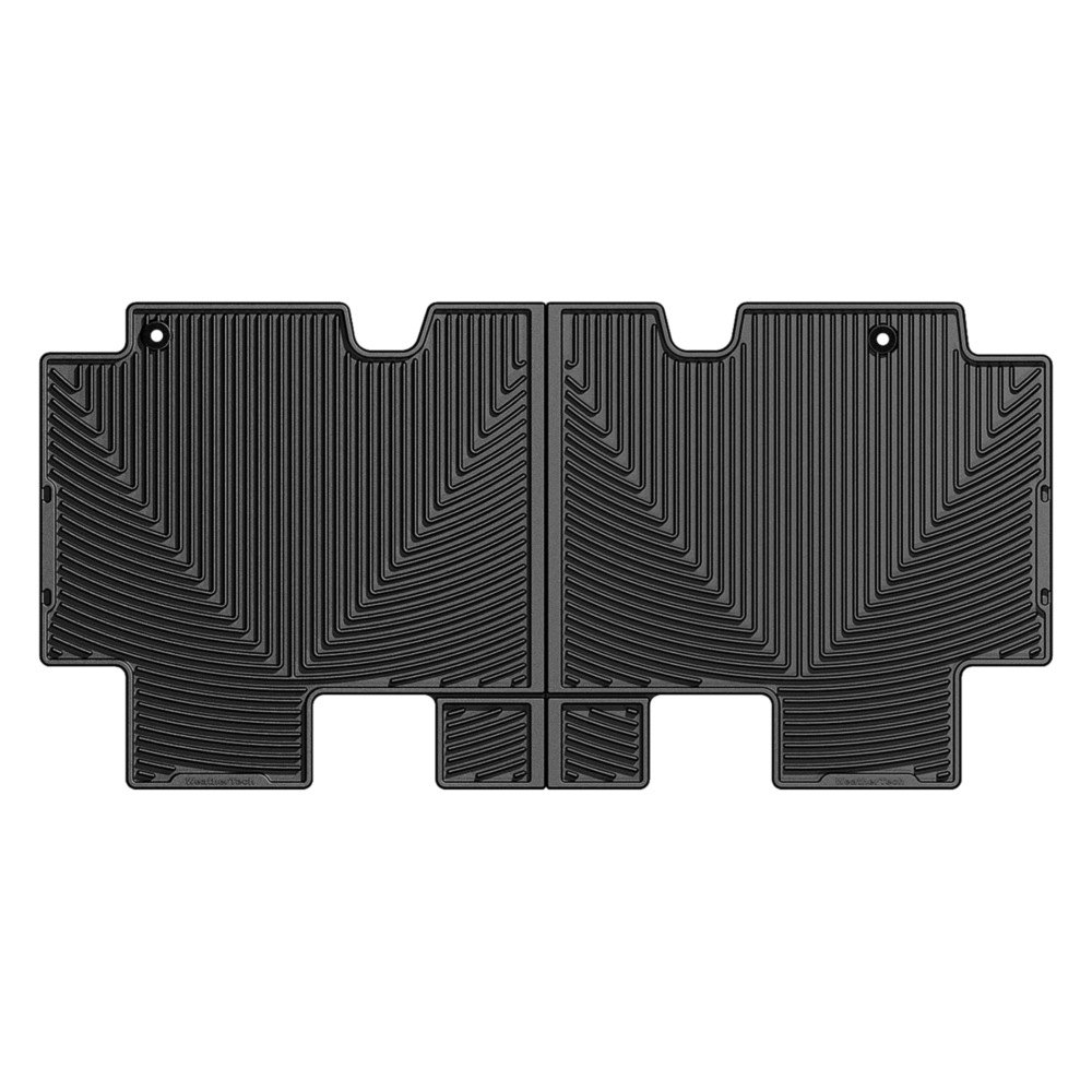 Weathertech 174 W212 All Weather 2nd Row Black Floor Mat
