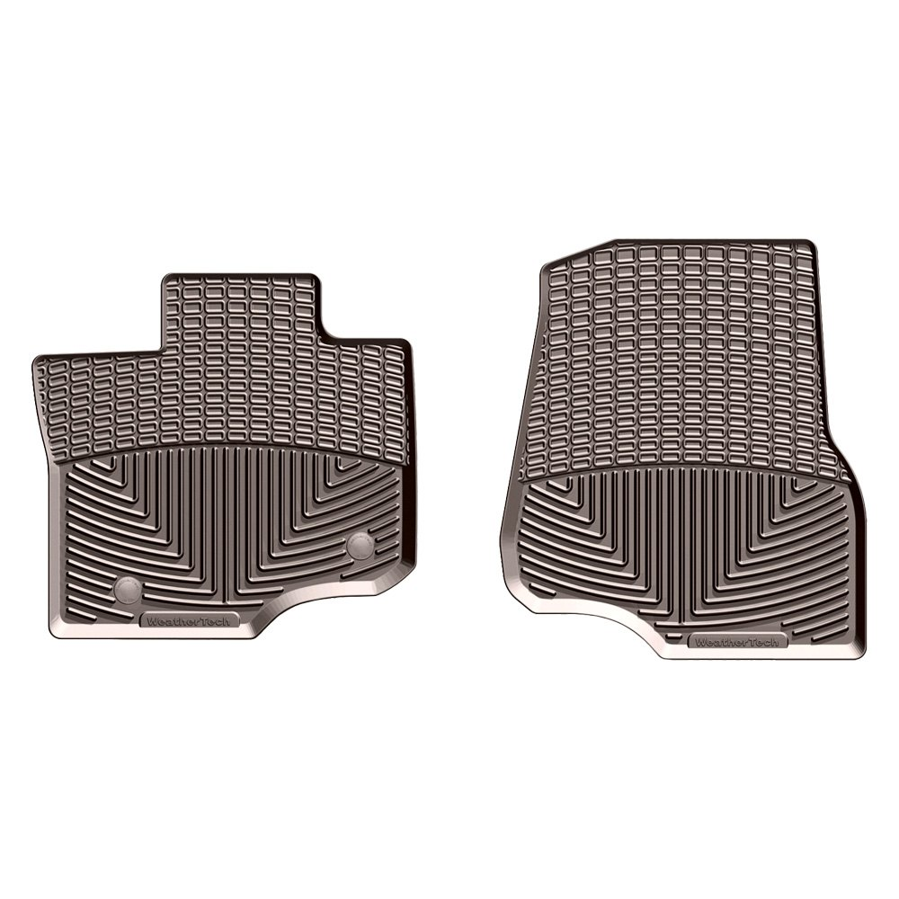 Weathertech 174 W345co All Weather 1st Row Cocoa Floor Mats