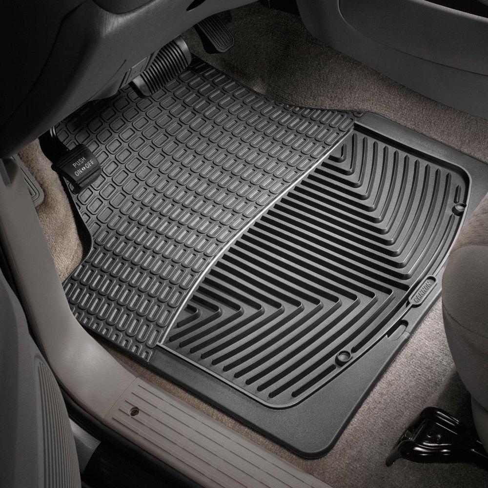 Weathertech all weather floor mats black