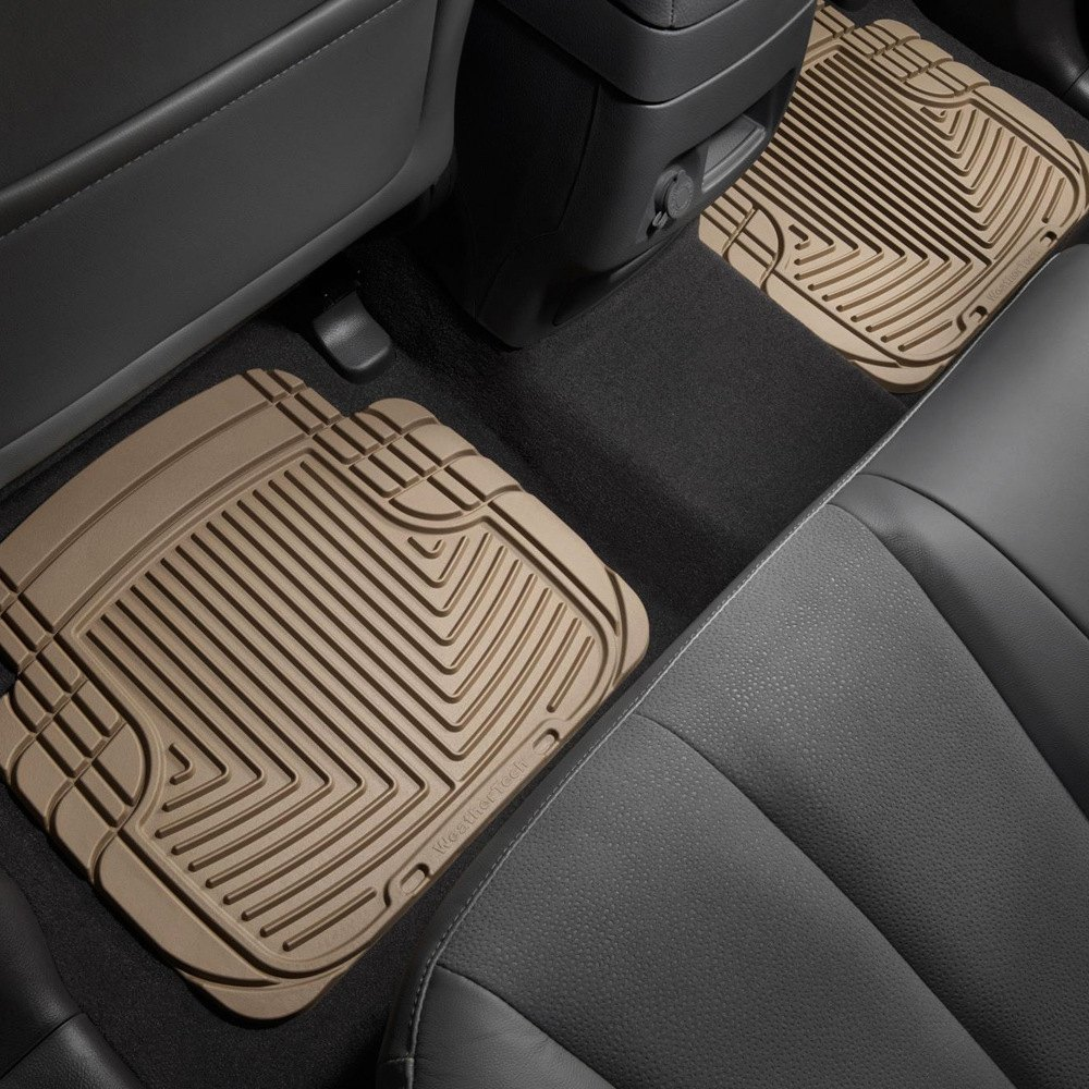Weathertech 174 W50tn All Weather 2nd Row Tan Floor Mats