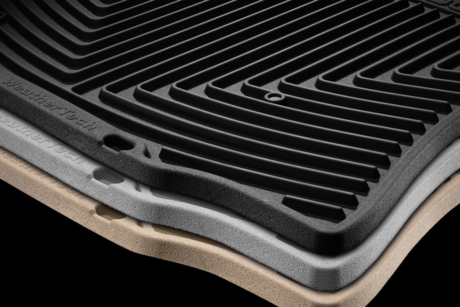 weathertech subaru forester 2014 2017 all weather floor. Black Bedroom Furniture Sets. Home Design Ideas