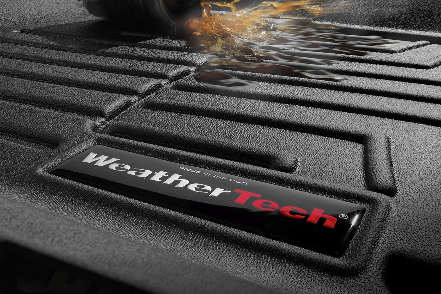 Weathertech floor mats promo -  Weathertech Digitalfit Molded Floor Mats Close Up
