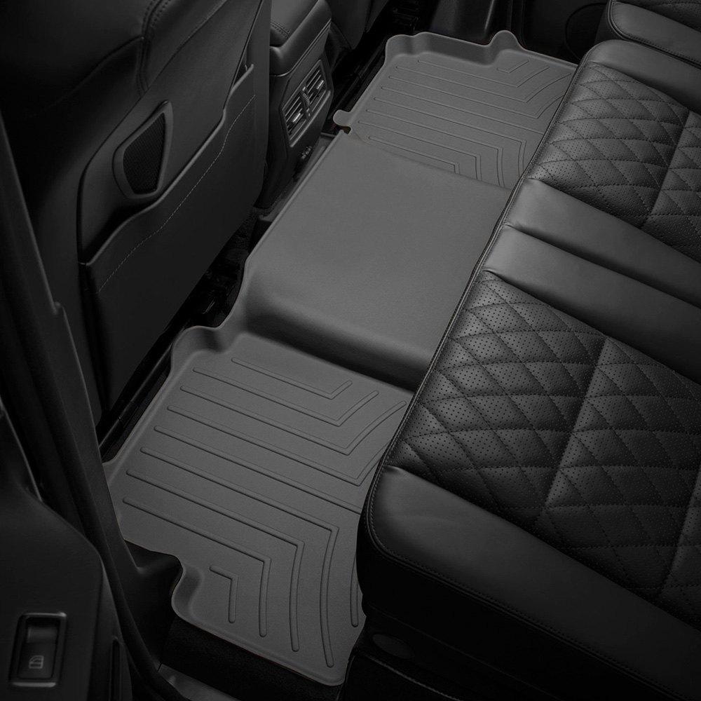 WeatherTech Custom Fit Rear FloorLiner for Jeep Liberty Grey 460322