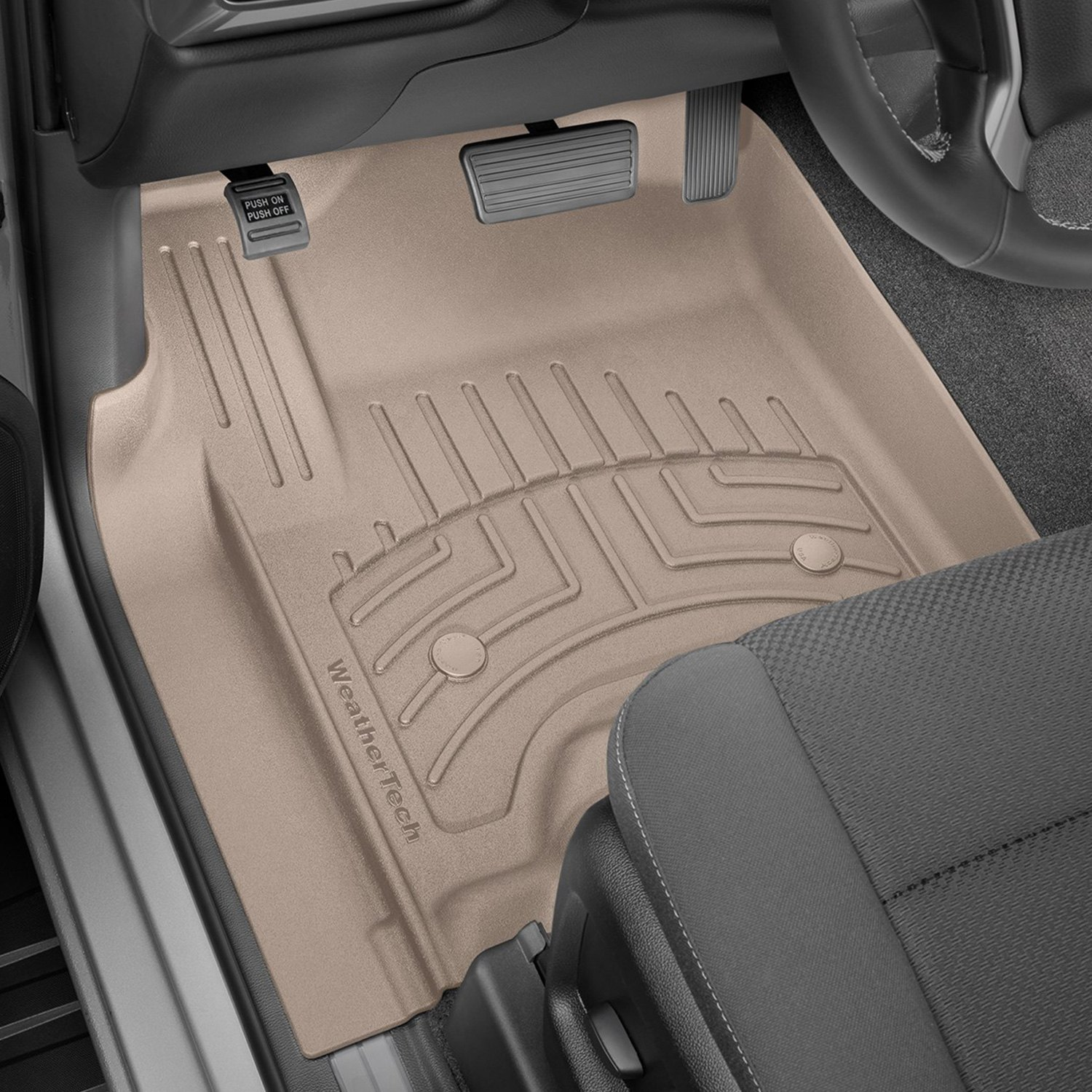 WeatherTech® - Ford F-250 2017 3D Floor Liners