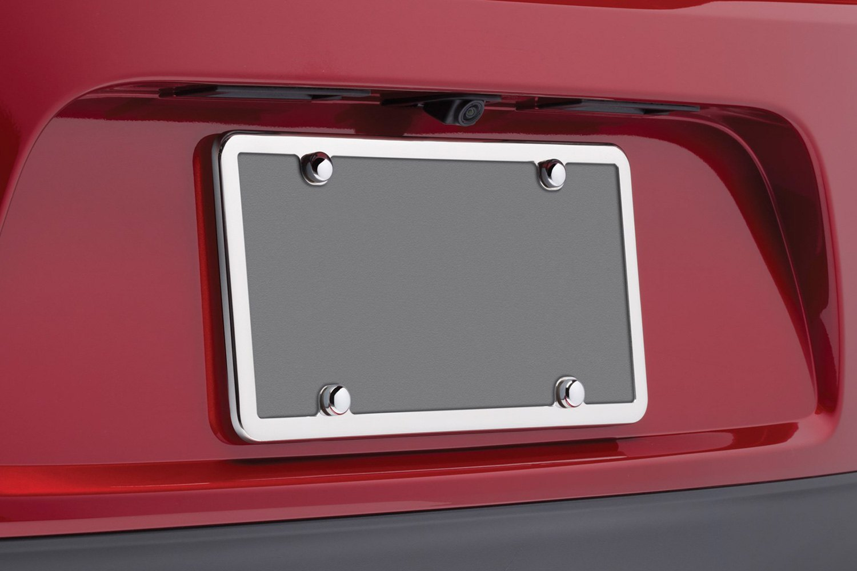 weathertech stainlesslicense frame license plate frame