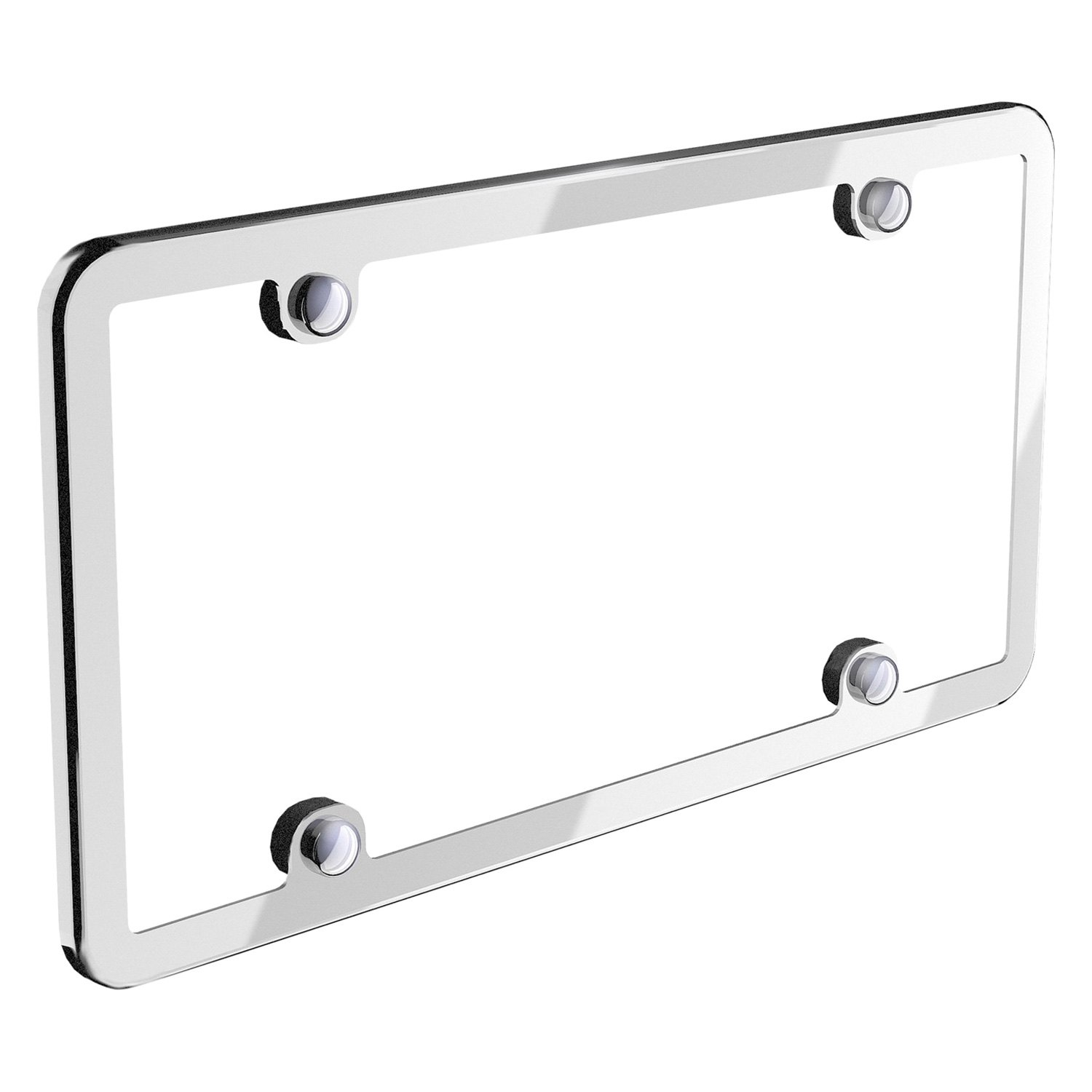 WeatherTech® 8ALPSS1 - StainlessFrame Chrome License Plate Frame
