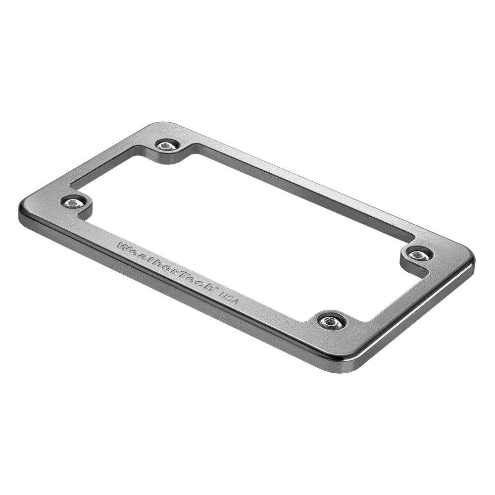 weathertech billet motorcycle license plate frame - Motorcycle Licence Plate Frame