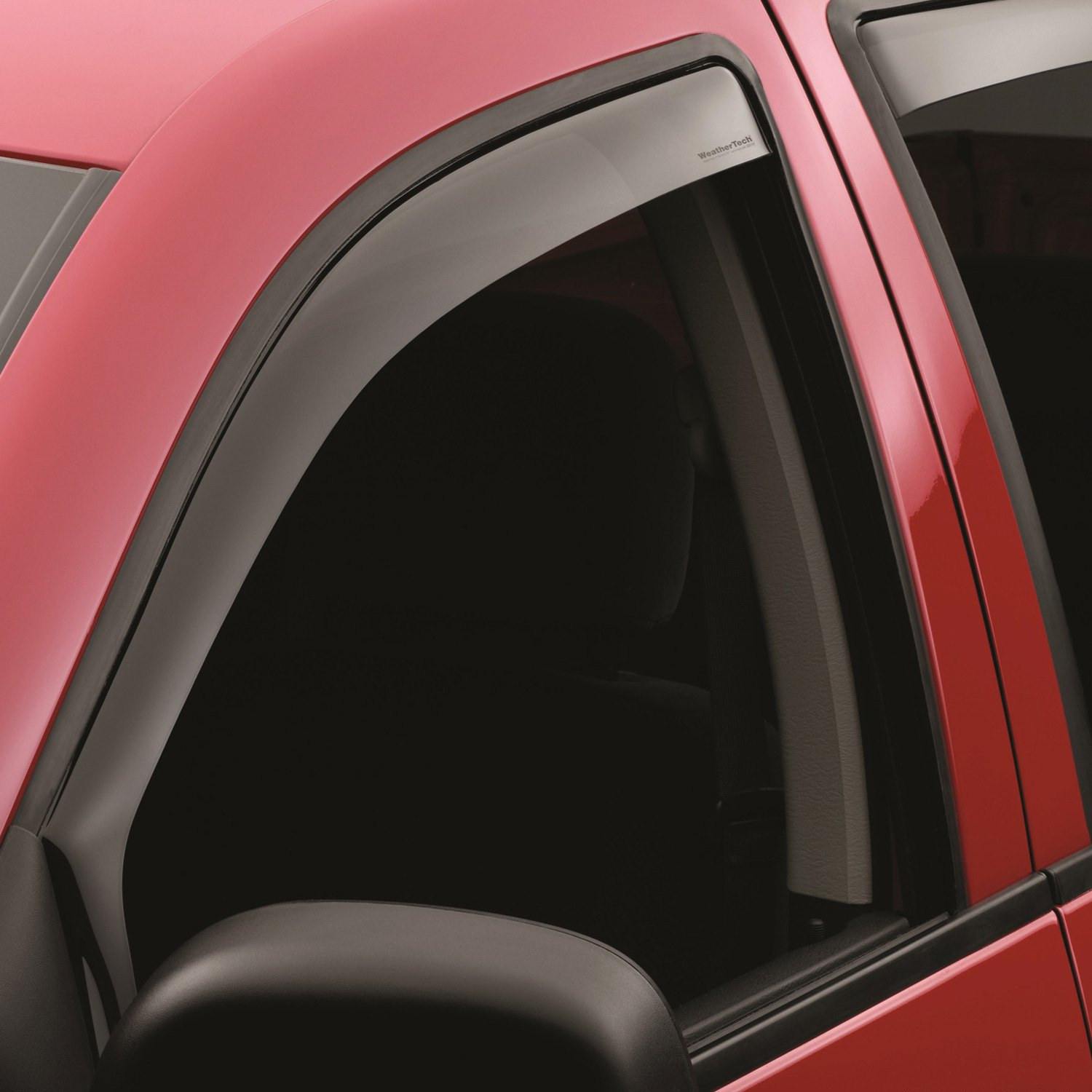 Weathertech dodge ram 2004 in channel side window for Window guards