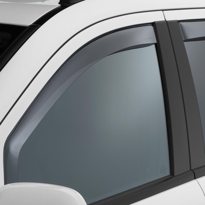 Light Smoke WeatherTech Custom Fit Front /& Rear Side Window Deflectors for Mercedes-Benz ML350