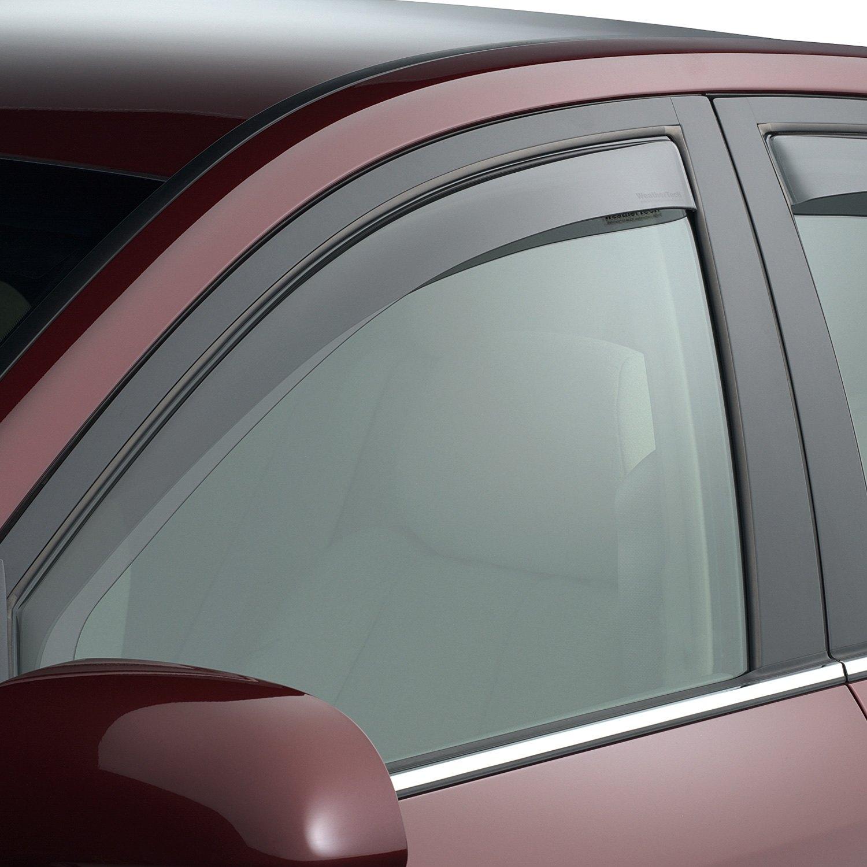 Weathertech 70404 in channel light smoke front side for All side windows