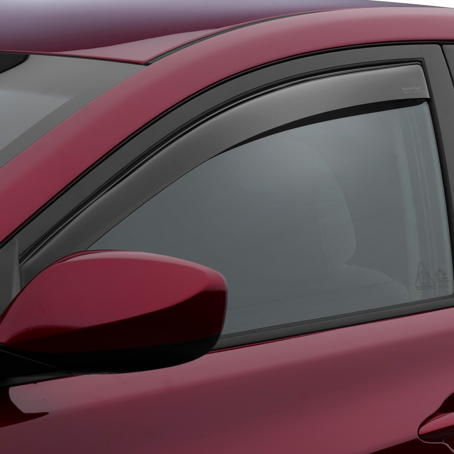 Light Smoke WeatherTech Custom Fit Front /& Rear Side Window Deflectors for Hyundai Elantra