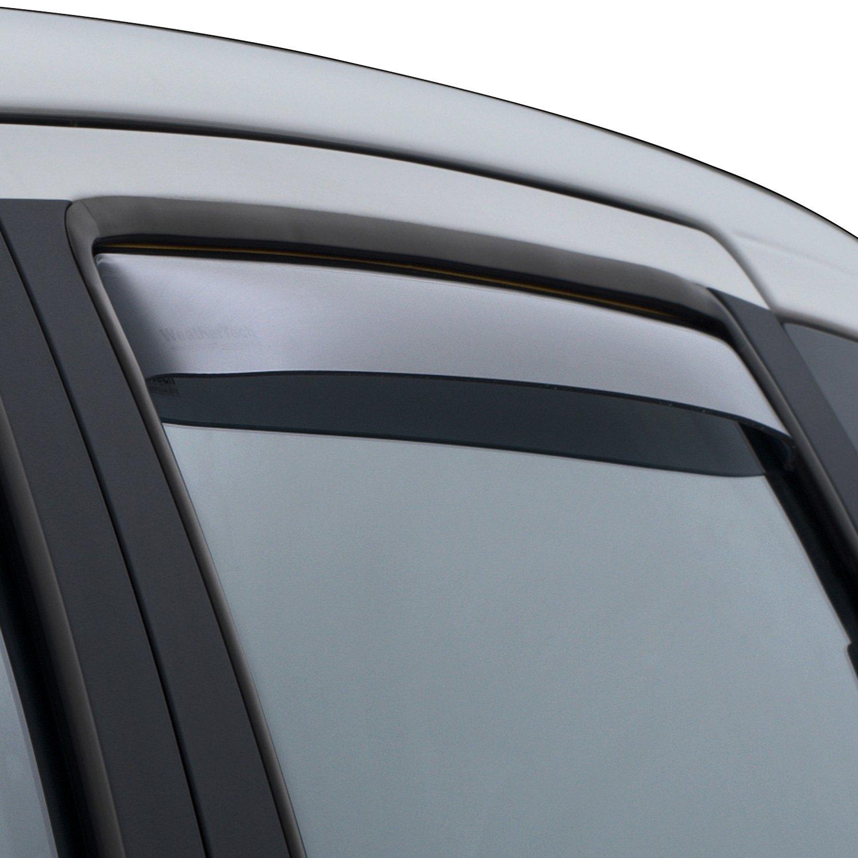 Dark Smoke WeatherTech Custom Fit Front /& Rear Side Window Deflectors for Toyota RAV4