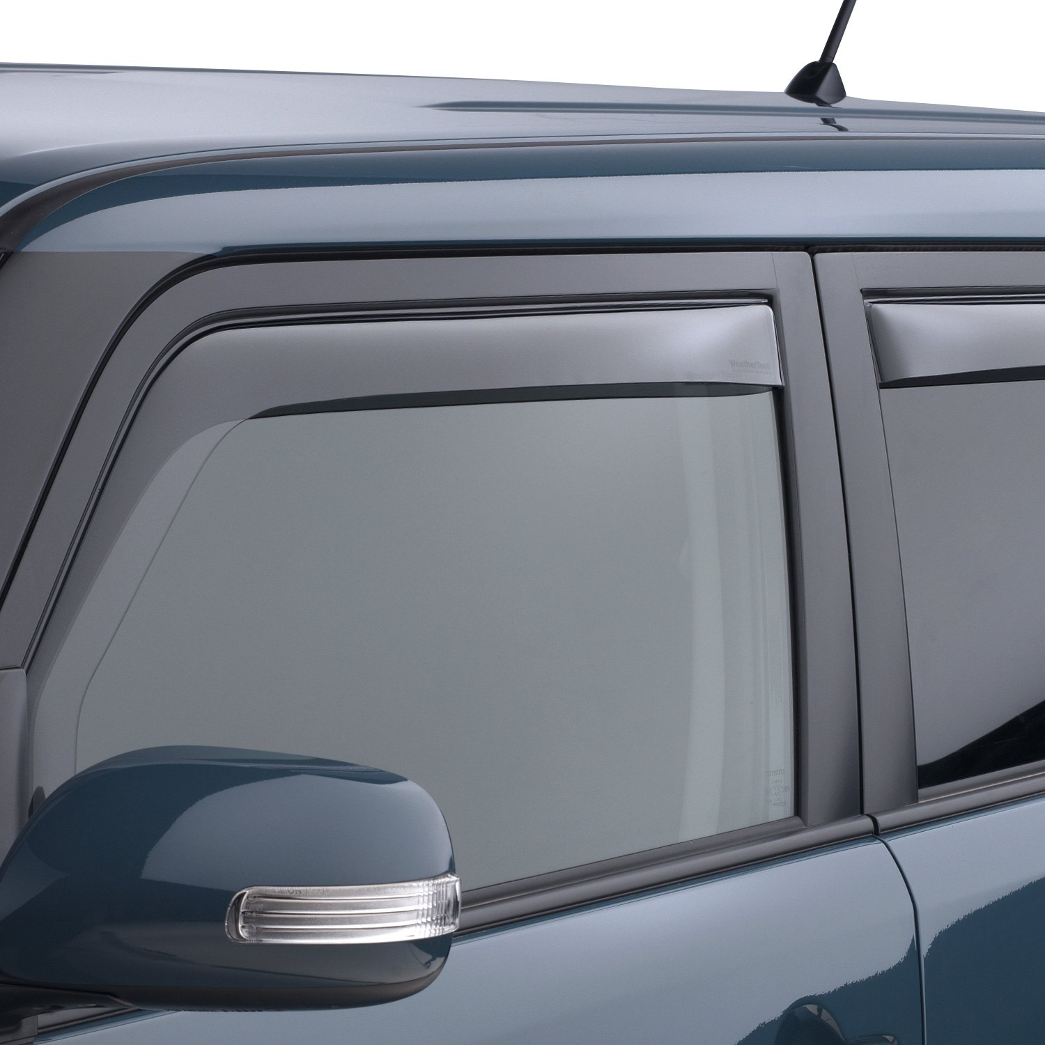 Weathertech scion xb 2008 2015 in channel side window for Window guards