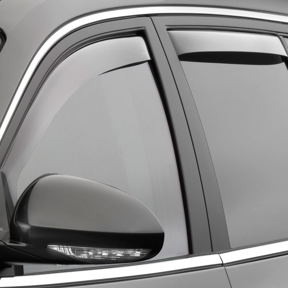 Weathertech buick enclave 2008 2017 in channel side for Window guards