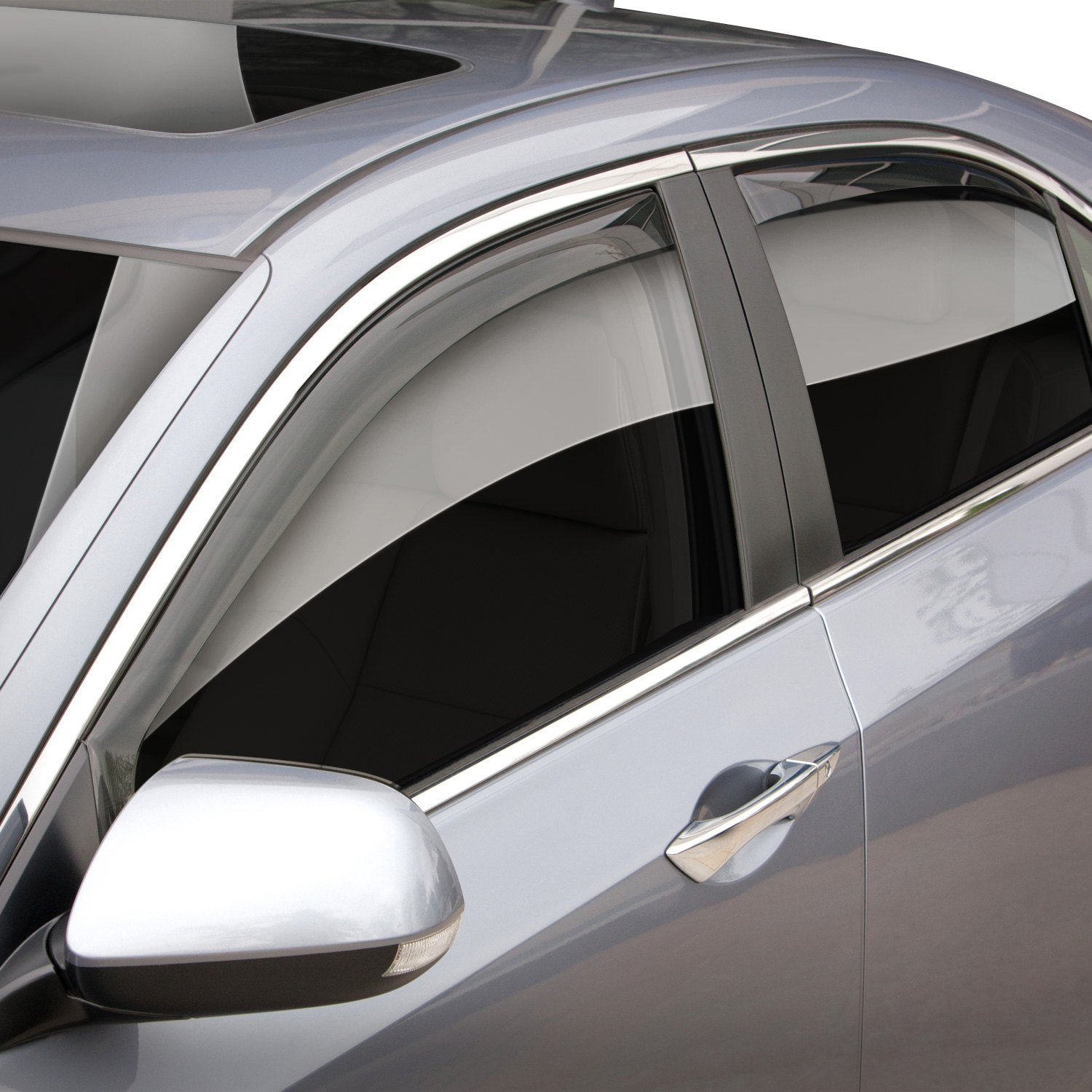 weathertech acura tsx 2009 in channel side window deflectors rh carid com Used Acura TSX 09 Used Acura TSX 09