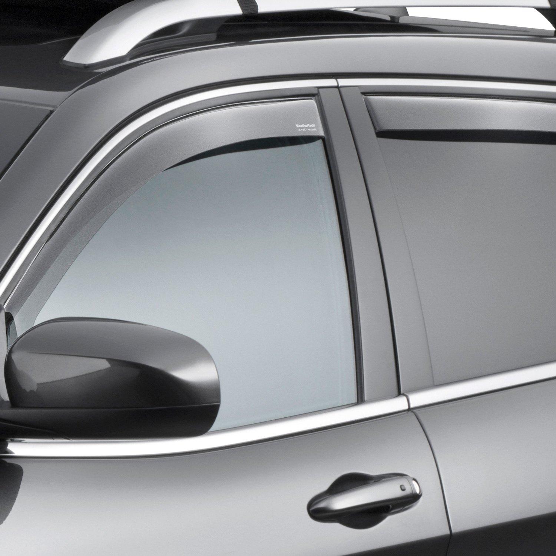 WeatherTech® - Jeep Cherokee 2014-2019 In-Channel Side ...