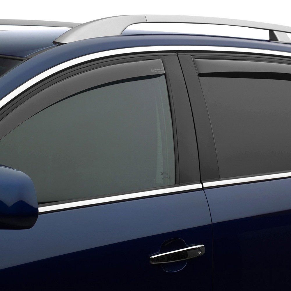 All Weather Tires >> WeatherTech® - Toyota Highlander 2015 In-Channel Side Window Deflectors