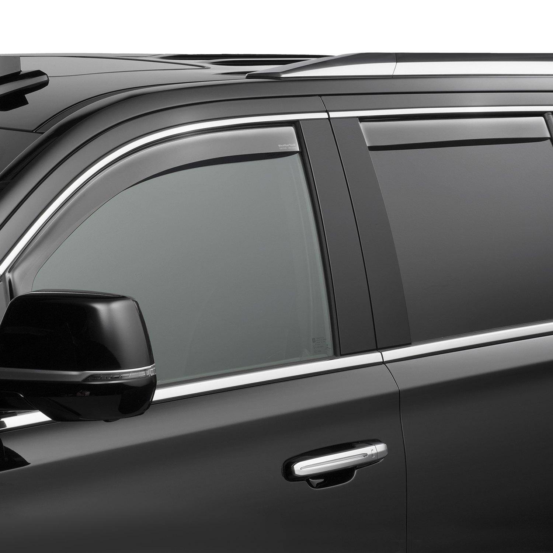 Weathertech Window Deflectors Ford F150 Go4carz Com