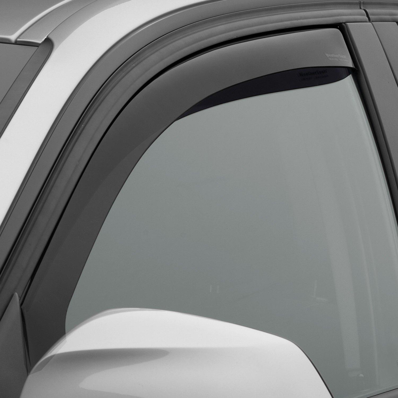 Dark Smoke WeatherTech Custom Fit Rear Side Window Deflectors for BMW 3-Series