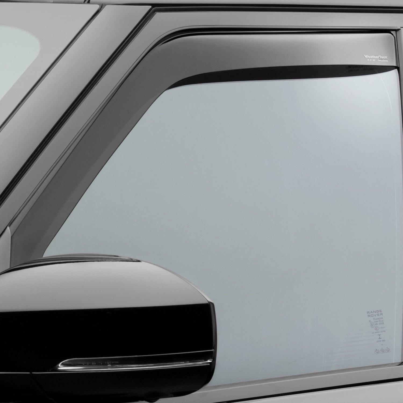 Weathertech 80737 in channel dark smoke front side for All side windows