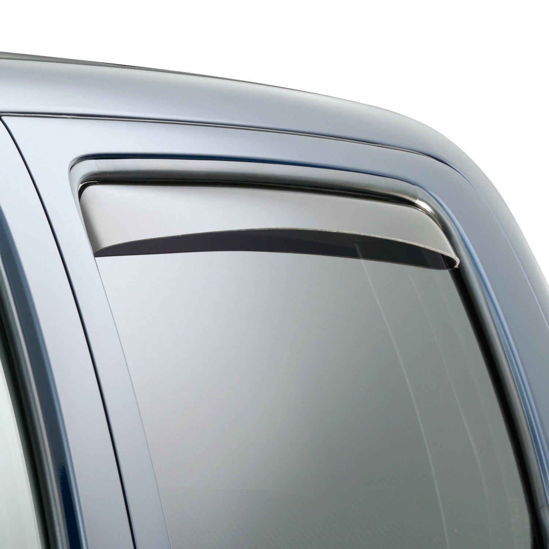82389 WeatherTech Custom Fit Front /& Rear Side Window Deflectors for Toyota Taco