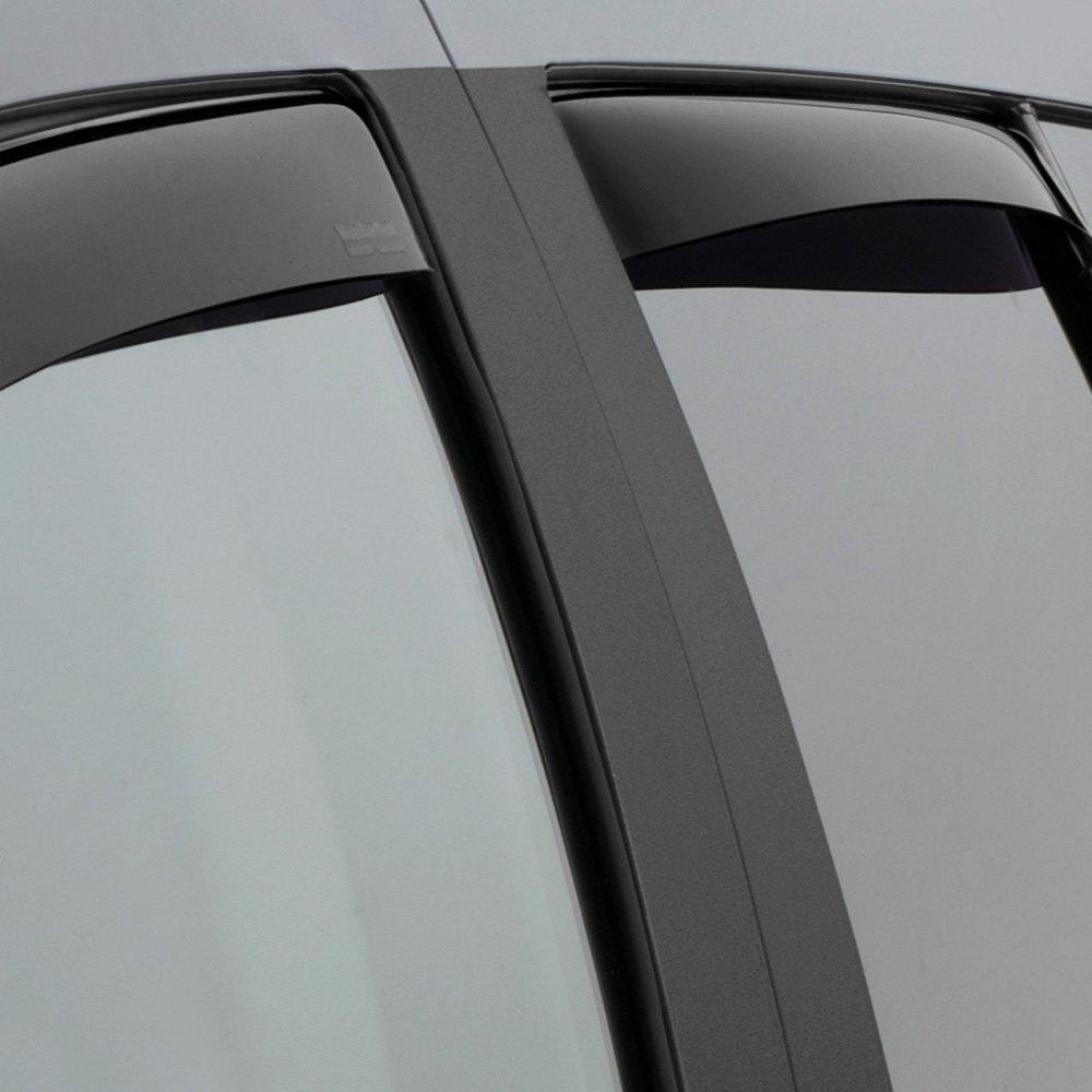 Weathertech Window Visors >> WeatherTech® - Jeep Compass 2007 In-Channel Side Window ...